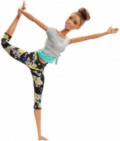 Кукла Barbie Двигайся как я Шатенка (FTG82)