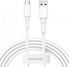 Кабель Baseus USB - USB Type-C 3 A 1 м White (CATSW-02)