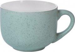 Кружка керамическая Fissman 450 мл Зеленая (6086)