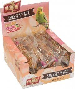 Набор лакомств для попугаев Vitapol Smakers Box с клубникой 12 шт (5904479132321)