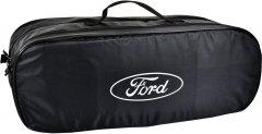 Сумка-органайзер в багажник Форд черная размер 50 х 18 х 18 см (03-110-2Д)