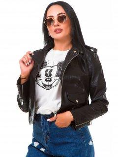 Куртка из искусственной кожи Remix W2024 XL Черная (2950006544276)