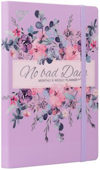 Планер недатированный Yes No Bad Days 197 x 145 мм 192 страниц Pattern (151664)