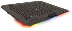 Охлаждающая подставка для ноутбука Crown CMLS-150 Black/RGB