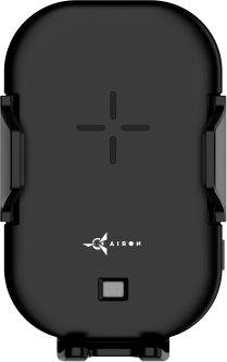 Беспроводное автомобильное зарядное устройство AirOn AirCharge Black (6126755803217)