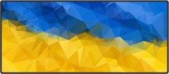 Игровая поверхность Protech Ukrainian Flag 900 x 400 мм (PR-1619)