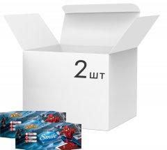 Упаковка влажных салфеток SmileMarvelЧеловекПаук антибактериальных 2 упаковки по 72 шт (42139167_4823071642254)