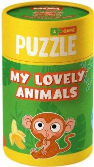 Игра-пазл Mon Puzzle DODO Мои волшебные животные (200104)