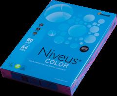 Набор офисной цветной бумаги Niveus Color А4 80 г/м2 Интенсив 500 листов Темно-синий (A4.80.NVI.DB49.500)