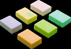 Набор ластиков Buromax Pastel 48 шт Ассорти (BM.1128)