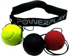 Тренажер для бокса PowerPlay 4320 Fight Ball Set 3 шт (PP_4320)