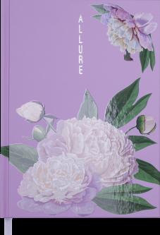 Ежедневник недатированный Buromax Allure A5 на 288 страниц Лавандовый (BM.2011-39)