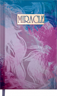 Ежедневник недатированный Buromax Miracle A6 на 288 страниц Фиолетовый (BM.2623-07)