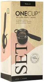 Фильтры для кофе FINUM One Cup Set 60 шт + держатель