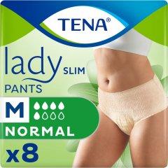 Подгузники-трусики для взрослых Tena Lady Slim Pants Normal Medium 8 шт (7322541226842)