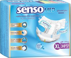 Подгузники для взрослых Senso Med Standart Plus размер ХL 30 шт (4810703123670)