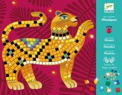 Набор для творчества Djeco мозаика Глубоко в джунглях (3070900094222)