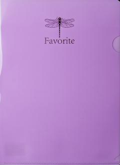 Набор папок-уголков Buromax Favourite Pastel 12 шт. A4 180 мкм Сиреневый (BM.3855-26)
