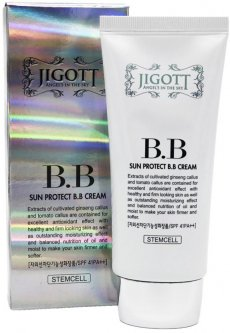 Солнцезащитный BB крем Jigott Sun Protect BB Cream SPF41 PA++ 50 мл (8809210037187)