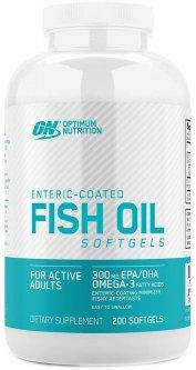 Жирные кислоты Optimum Nutrition Fish Oil 200 капсул (748927029857)