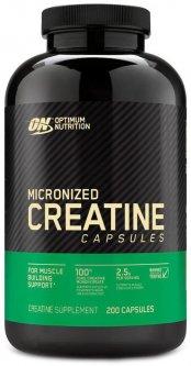 Креатин Optimum Nutrition Creatine 2500 200 капсул (748927021349)
