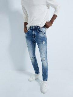 Джинси Zara 5862/341/407 38 Блакитні джинс (05862341407383)