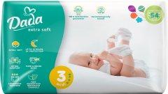 Подгузники для детей Dada Extra Soft 3 4-9 кг 54 шт (4823071646443_4820174980832)