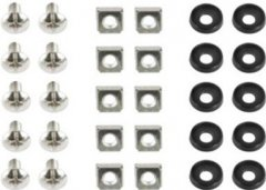 Комплект для монтажа в стойку Cablexpert 19'' 10 шт (19A-FSET-01)
