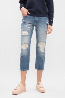 Жіночі блакитні джинси MID RISE STRAIGHT LANA CLBLRIDE Tommy Hilfiger 25-32 DW0DW03908