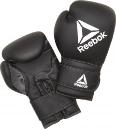 Боксерские перчатки Reebok 16 унций Черные (RSCB-12010BK-16)