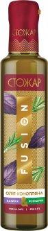 Масло конопляное Стожар Fusion Базилик-розмарин 250 мл (4820078577299)