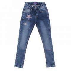 Штани джинсові для дівчинки BREEZE 13595 146 см синій (173169)