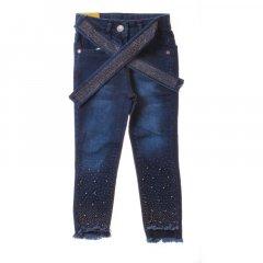 Штани джинсові для дівчинки SERCINO 57343 146 см синій (410181)
