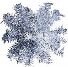 Шар-снежинка Новогодько (YES! Fun) средний (мишура) d-40 (902865)