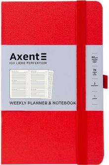 Еженедельник недатированный Axent Partner Strong А5 96 л Красный (8602-21-05-A)