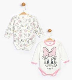 Боди Disney Minnie Mouse MN16077 74-80 см 2 шт Бело-розовое (8691109822420)