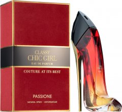 Парфюмированная вода для женщин Fragrance World Classy Chic Girl Passione аналог Carolina Herrera Good Girl Red 90 мл (6291106487527)