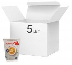Упаковка каши Bonner Кус-кус по мароккански с имбирем 60 г х 5 шт (3000030030180)