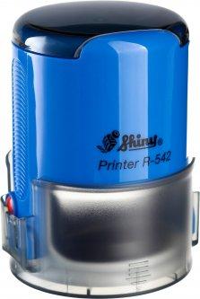 Оснастка для круглой печати d 42 мм Shiny R-542 синий корпус с крышкой (4710850542051)