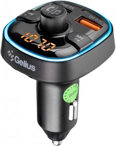 FM-трансмиттер Gelius Pro RGB-QC GP-FMT050 (2099900823015)
