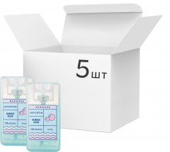 Набор антисептиков-спреев для рук Mermade Bubble Gum 16 мл х 5 шт (5MRA0013S) (2000000206578)