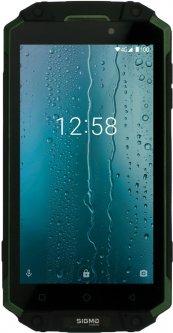 Мобильный телефон Sigma mobile X-treme PQ39 Ultra Black-Green