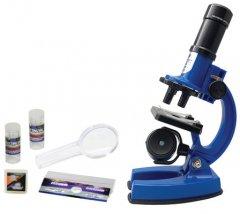 Синий микроскоп Eastcolight увеличение до 600 раз (ES21331)