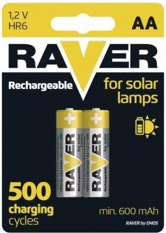 Аккумулятор Raver by Emos B7426 AA 600 мАч BLI 2 Ni-MH (B7426)