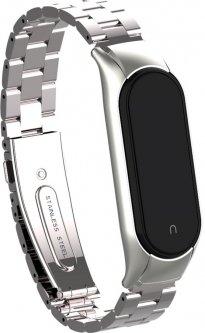 Ремешок ArmorStandart Metal Band 503 для Xiaomi Mi Band 6/5 Silver (ARM57187)