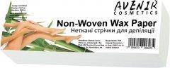 Нетканые полоски для депиляции Avenir Cosmetics Non-Woven Wax Paper 100 шт (2009610006974)