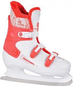 Коньки фигурные Tempish Ice Star 41 Бело-красные (1300001625/41)