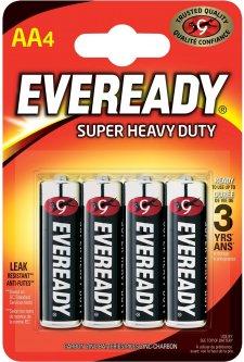 Батарейка Energizer Eveready AA 4 шт (7638900083590)