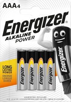 Батарейка Energizer Alkaline Power AAA 4 шт (7638900247893)