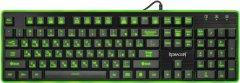 Клавиатура проводная Redragon Dyaus USB (ENG/UKR/RUS) Black (77625)